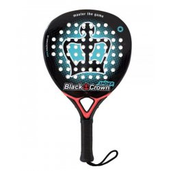 pala de padel black crown spider