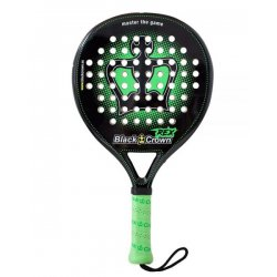 pala de padel black crown rex