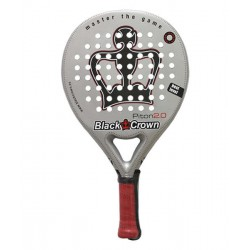 pala de padel black crown piton 2.0