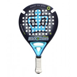 pala de padel black crown flap