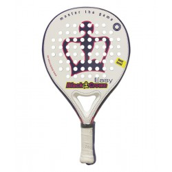 pala de padel black crown easy