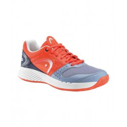 zapatillas de padel head team clay coral