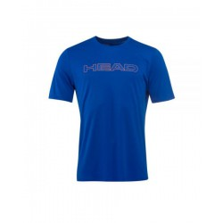 camiseta de padel head basic tech