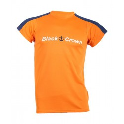 camiseta de padel black crown game