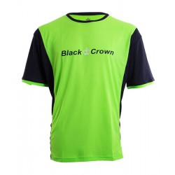 camiseta de padel black crown keep