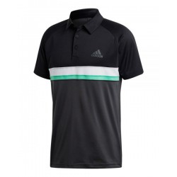 polo de padel adidas club colorblock