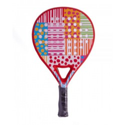 pala de padel agatha ruiz de la prada dots and stripes