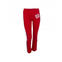 pantalon largo de padel varlion tomate