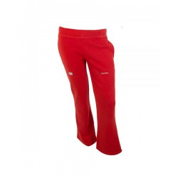 pantalon largo de padel varlion rojo 490033