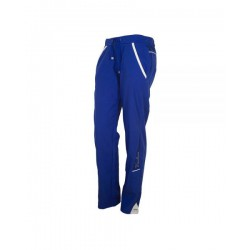 pantalon largo de padel varlion alpha long azul mujer