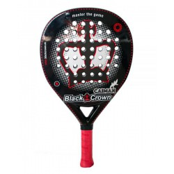 pala de padel black crown caiman