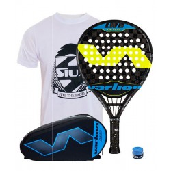 pack de padel varlion lw h difusor carrera y paletero varlion hexagon