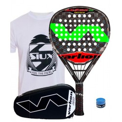 pack de padel varlion canon h difusor carrera y paletero varlion hexagon