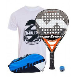 pack de padel varlion avant h carbon carrera y paletero varlion ergonomic