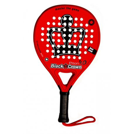 pala padel black crown piton 4 0
