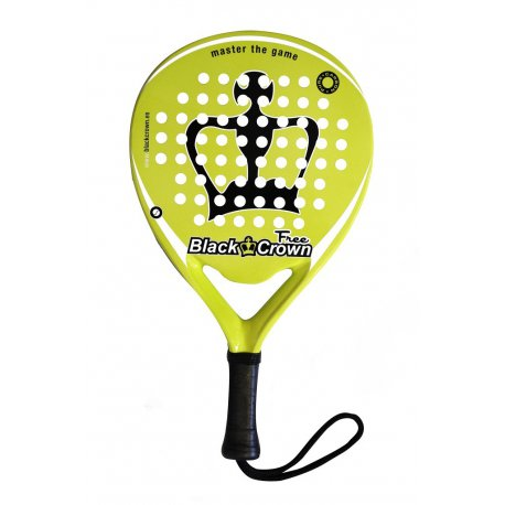 raqueta padel black crown free