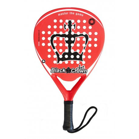pala padel black crown jet