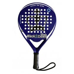 pala padel black crown dark