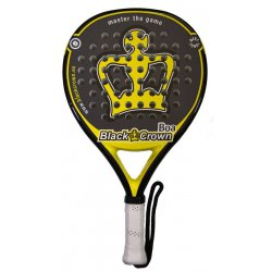raqueta padel black crown boa