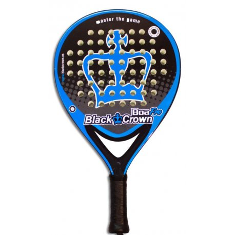 pala padel black crown boa pro