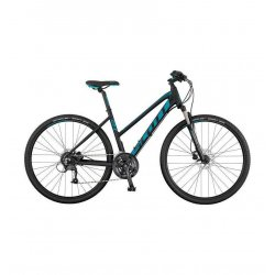 bicicleta urbana scott sub cross 40 lady