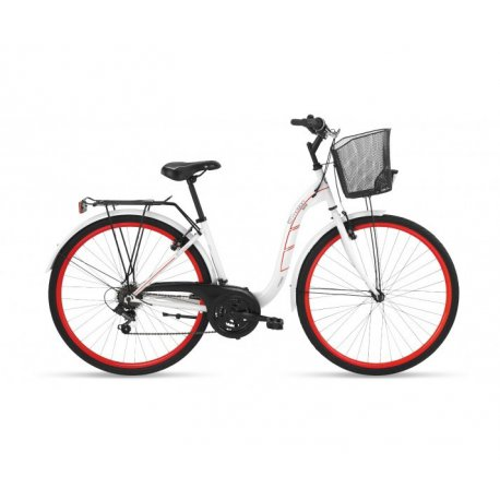 bicicleta urbana bh boston 18v r 700 steel te617