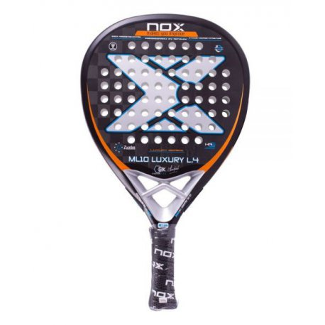 pala de padel nox ml10 luxury l4 plata