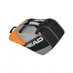 Paletero Head Elite Padel Supercombi Naranja Gris