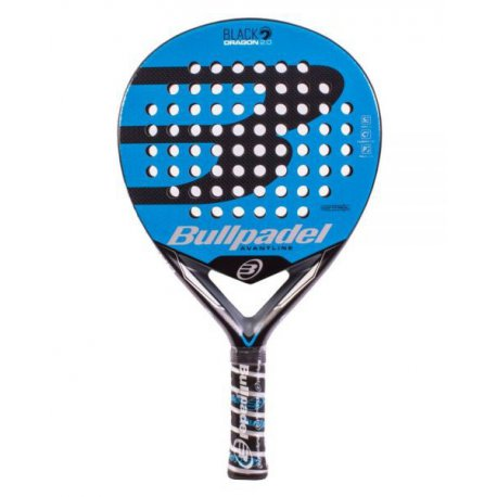 Pala de Pádel Bullpadel Black Dragon 2.0