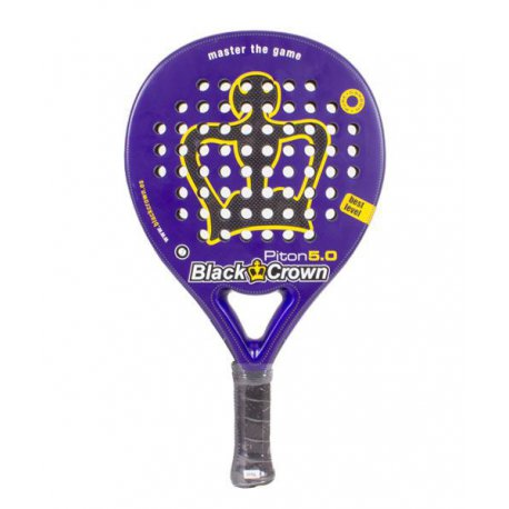 raqueta padel black crown piton 5 0