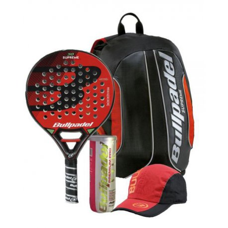 pack de padel bullpadel supreme