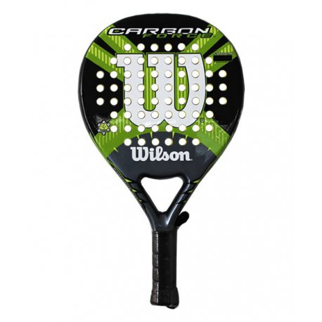 pala de padel wilson carbon force