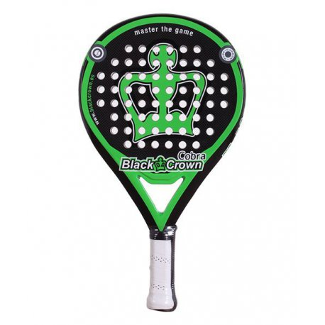 pala de padel black crown cobra