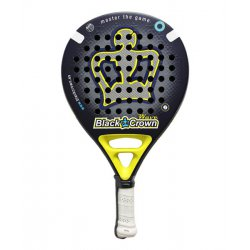 pala de padel black crown wave