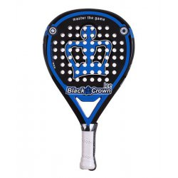 pala de padel black crown ice