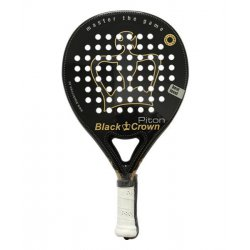 raqueta padel black crown piton